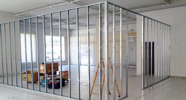 Alba ileria general ballarena construcciones - Como colocar pladur en techo ...